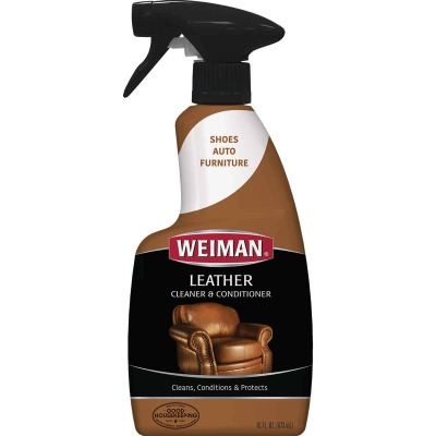 Weiman 16 Oz. Trigger Spray Leather Care Cleaner & Conditioner