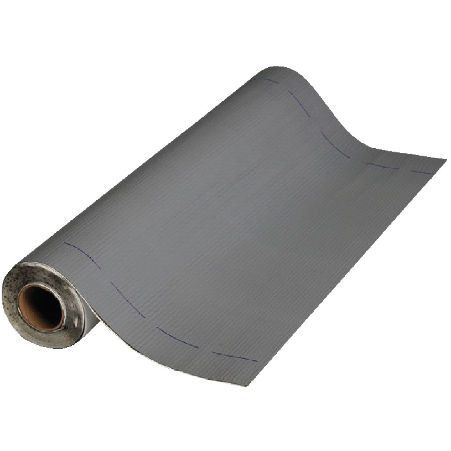 MFM Peel & Seal 36 In. X 33-1/2 Ft. Granite Gray Aluminum Roofing Membrane Image 1