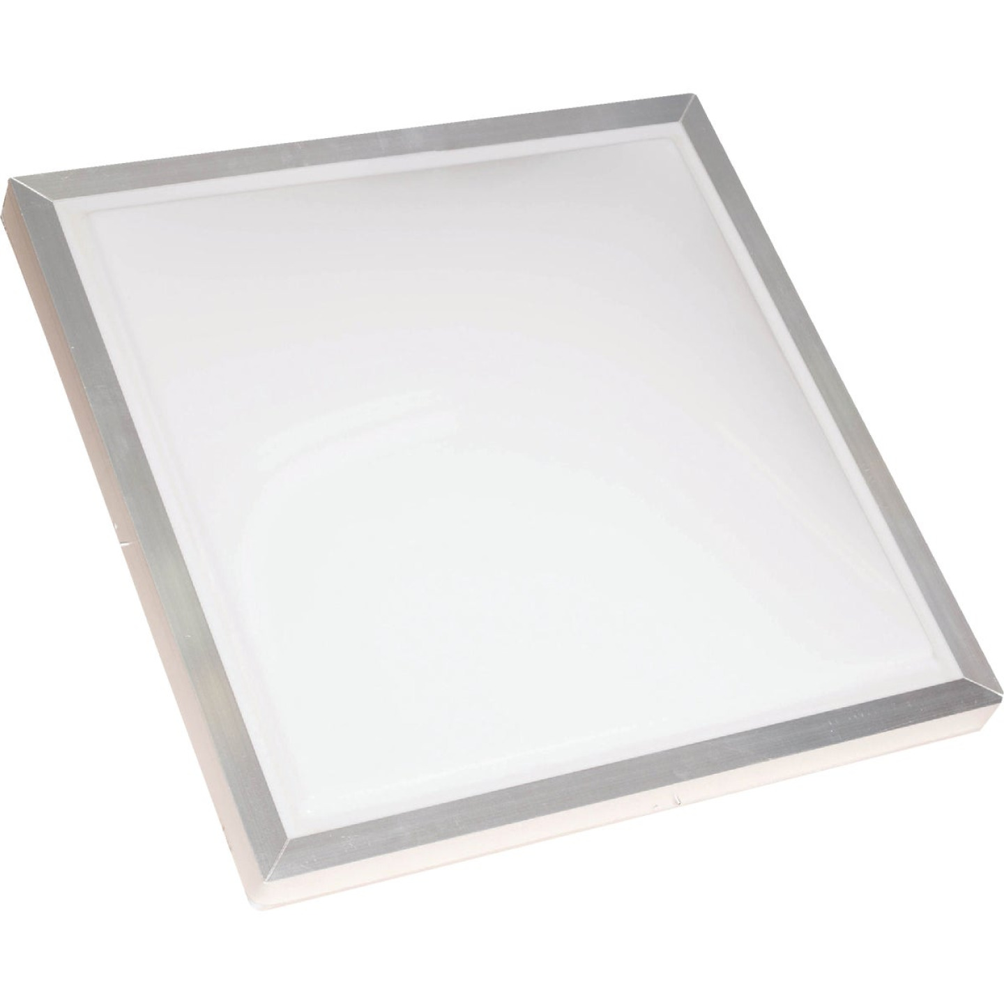 Kennedy Skylights 24 In. x 24 In. White Aluminum Frame Curb Mount Skylight Image 1