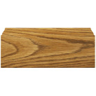 Inteplast Building Products 1/2 In. W. x 3-7/16 In. H. x 8 Ft. L. Ultra Oak Polystyrene Colonial Base Molding Image 3