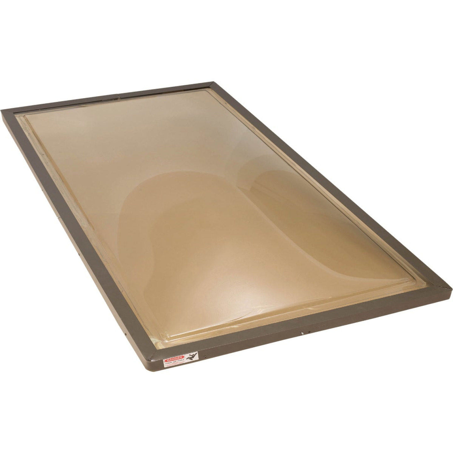 Kennedy Skylights 24 In. x 48 In. Bronze Aluminum Frame Curb Mount Skylight Image 1