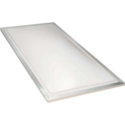 Kennedy Skylights 24 In. x 48 In. White Aluminum Frame Curb Mount Skylight