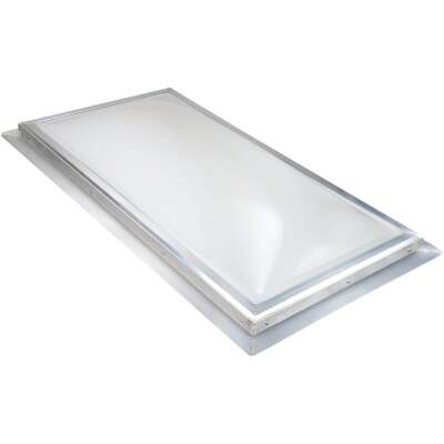 Kennedy Skylights 24 In. x 48 In. White Dome Insulated Skylight