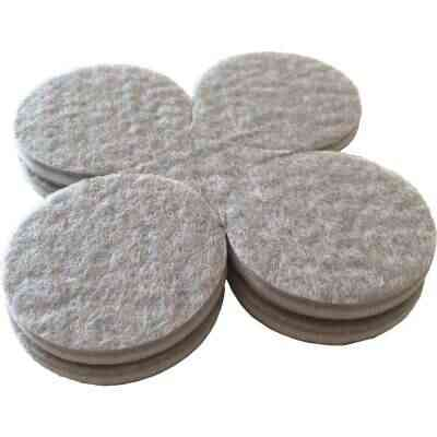 Shepherd 1-1/2 In. Beige Self-Adhesive Commercial Grade Felt Pads (8-Count)