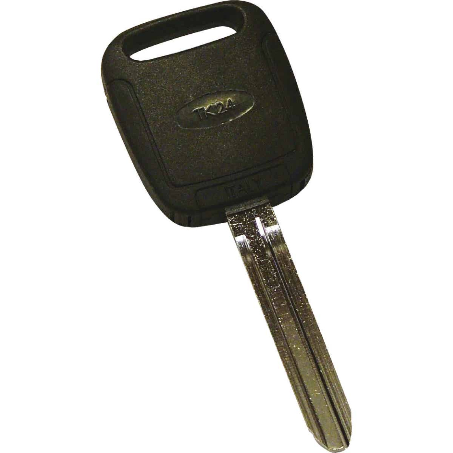 Hy-Ko Toyota Nickel Plated Programmable Chip Key Image 1