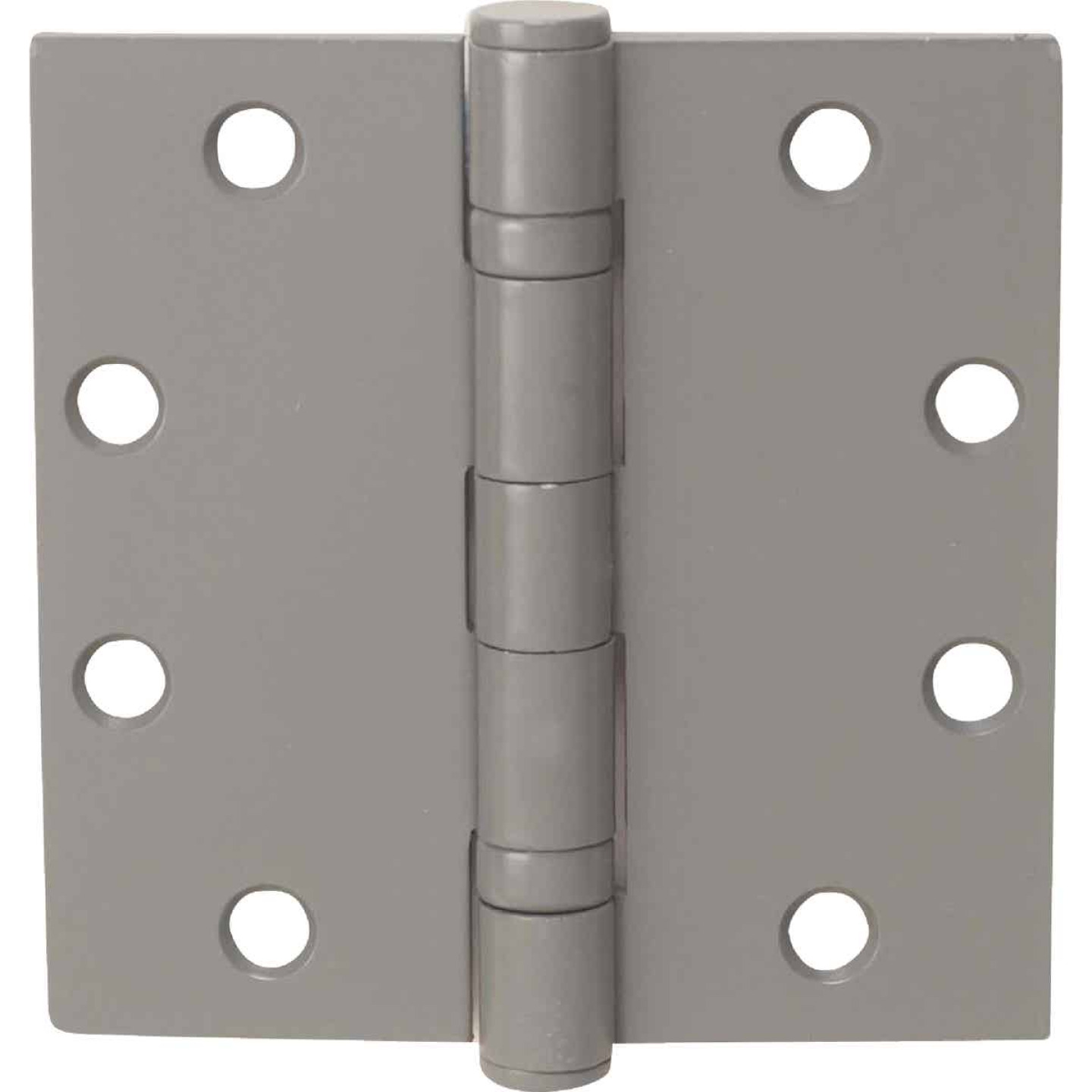 Tell Commercial 4-1/2 In. Square Prime Coat Ball Bearing Door Hinge (3-Pack) Image 1