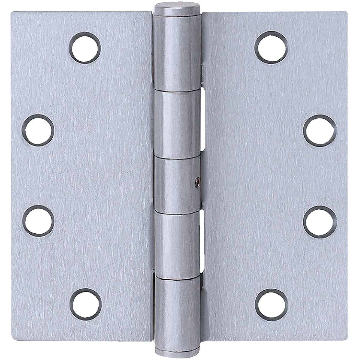 Tell Commercial Stainless Steel 4 In. Square Plain Bearing Hinge with Removable Pin Image 1