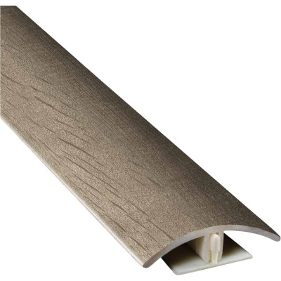 Mohawk RevoFit Walnut Mocha 1-3/4 In. W x 78-3/4 In. L 2-In-1 Multipurpose Vinyl Floor Transition