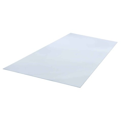 "Plaskolite OPTIX 28"" x 28"" x 0.100 (1/10"") Clear Acrylic Sheet"