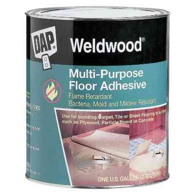 DAP Weldwood Can Multi-Purpose Floor Adhesive, Qt.