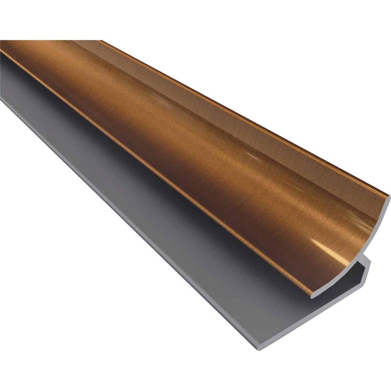 Fasade 18 In. Thermoplastic Inside Corner Backsplash Trim, Oil-Rubbed Bronze Image 1