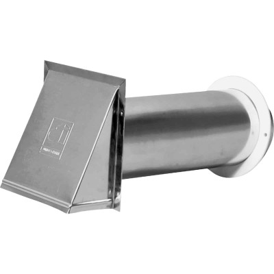 Dundas Jafine 3 In. Aluminum Dryer Vent Hood