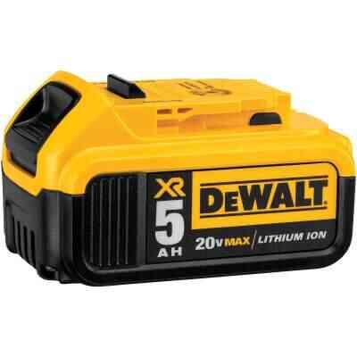 DeWalt 20 Volt MAX XR Lithium-Ion 5.0 Ah Premium Tool Battery