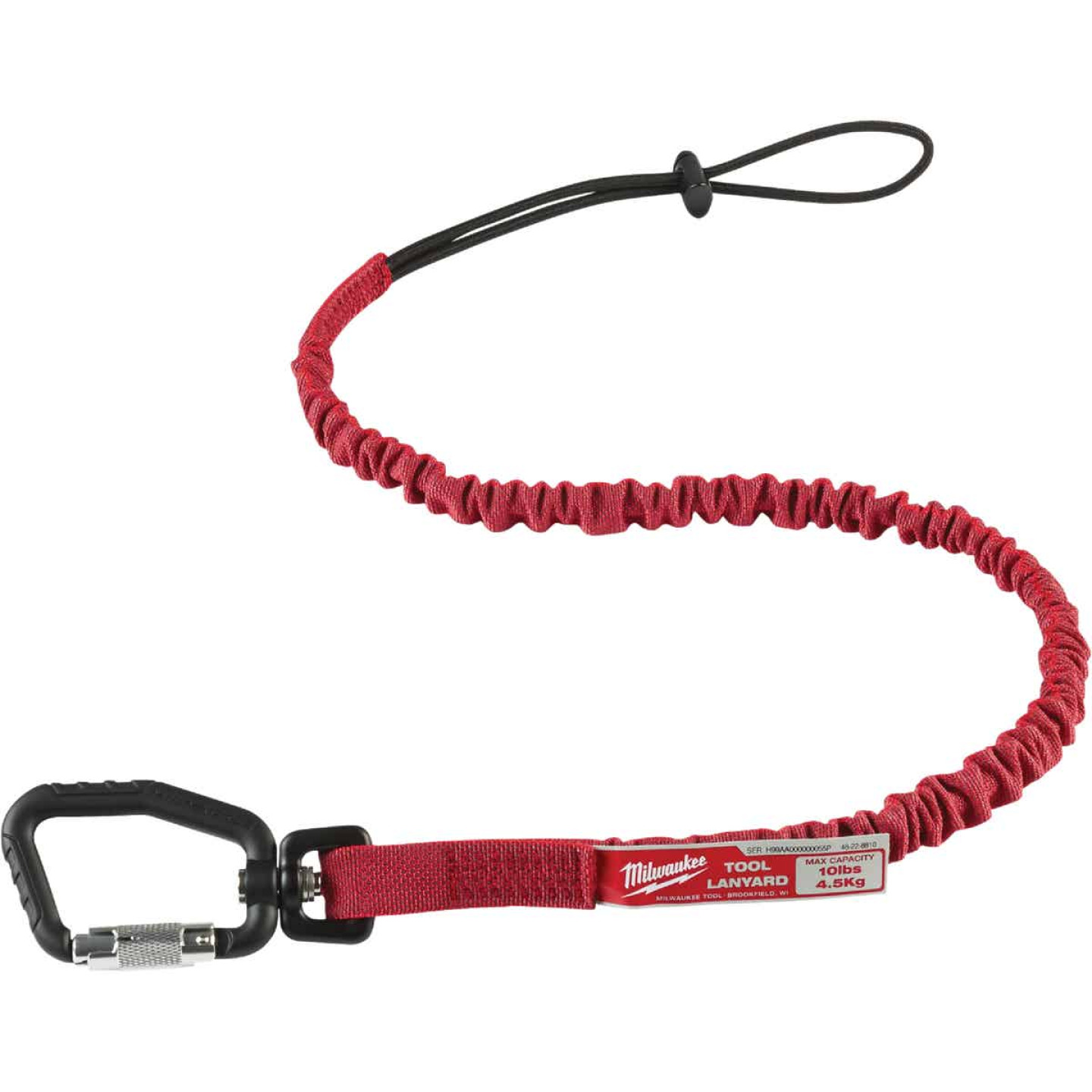Milwaukee 10 Lb. Locking Tool Lanyard Image 4