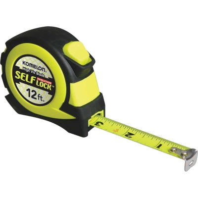 Komelon Evolution 12 Ft. Self-Lock Tape Measure