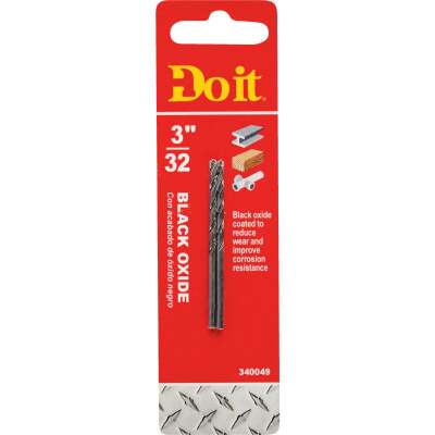 Do it 3/32 In. Black Oxide Drill Bit (2-Pack)