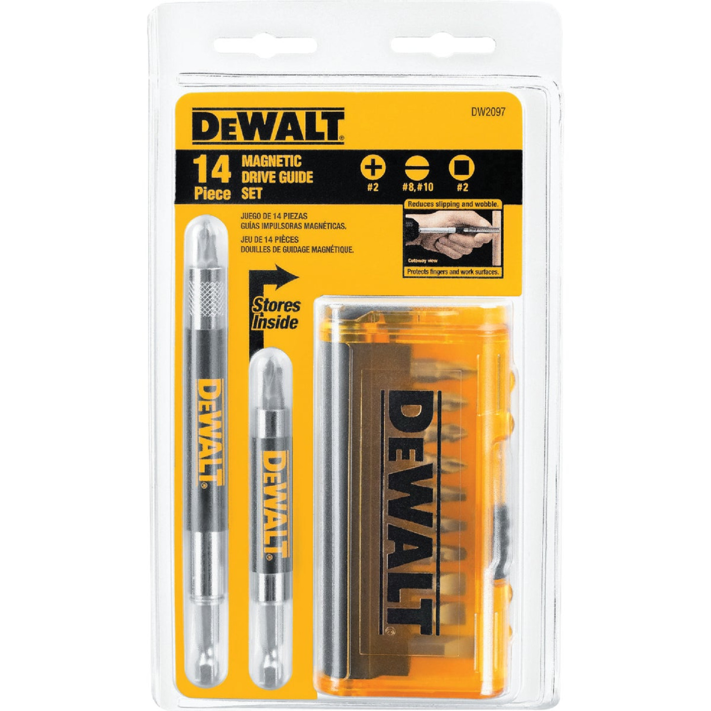 DeWalt 14-Piece Magnetic Drive Guide Screwdriver Bit Set Image 1