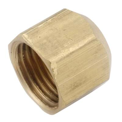 Anderson Metals 3/8 In. Brass Flare Cap