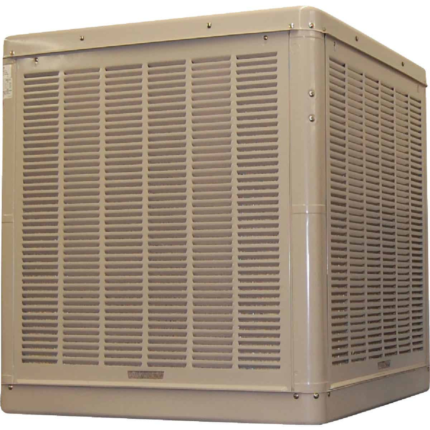 Essick 3300 to 6500 CFM Down Discharge Whole House Aspen Media Residential Evaporative Cooler, 1200-2400 Sq. Ft. Image 1