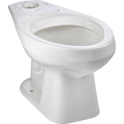Mansfield Alto White Elongated 14-3/4 In. Toilet Bowl