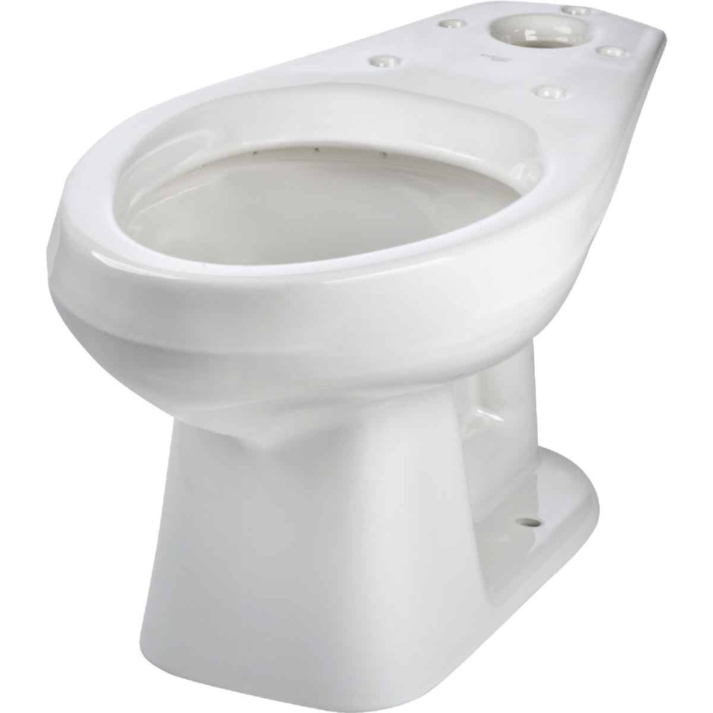 Mansfield Alto White Elongated 14-3/4 In. Toilet Bowl Image 2