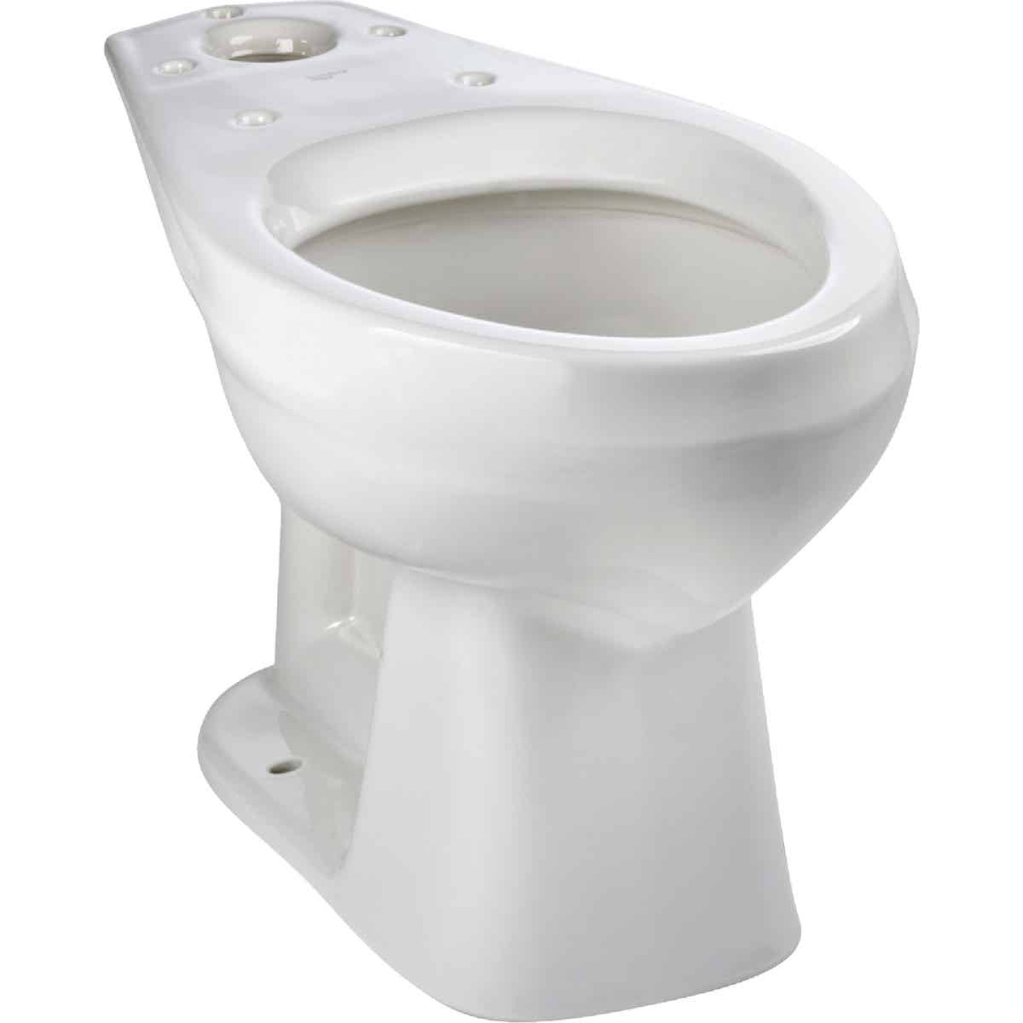 Mansfield Alto Smartheight White Elongated 16-7/8 In. ADA Toilet Bowl Image 1