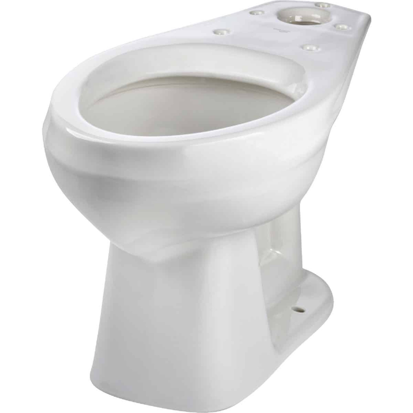 Mansfield Alto Smartheight White Elongated 16-7/8 In. ADA Toilet Bowl Image 2