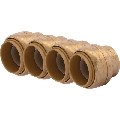 SharkBite 3/4 In. Push-to-Connect Brass End Push Cap (4-Pack)