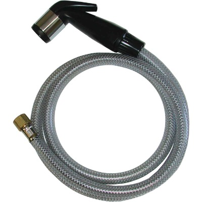 Jones Stephens Delta Black Replacement Sprayer & Hose Assembly