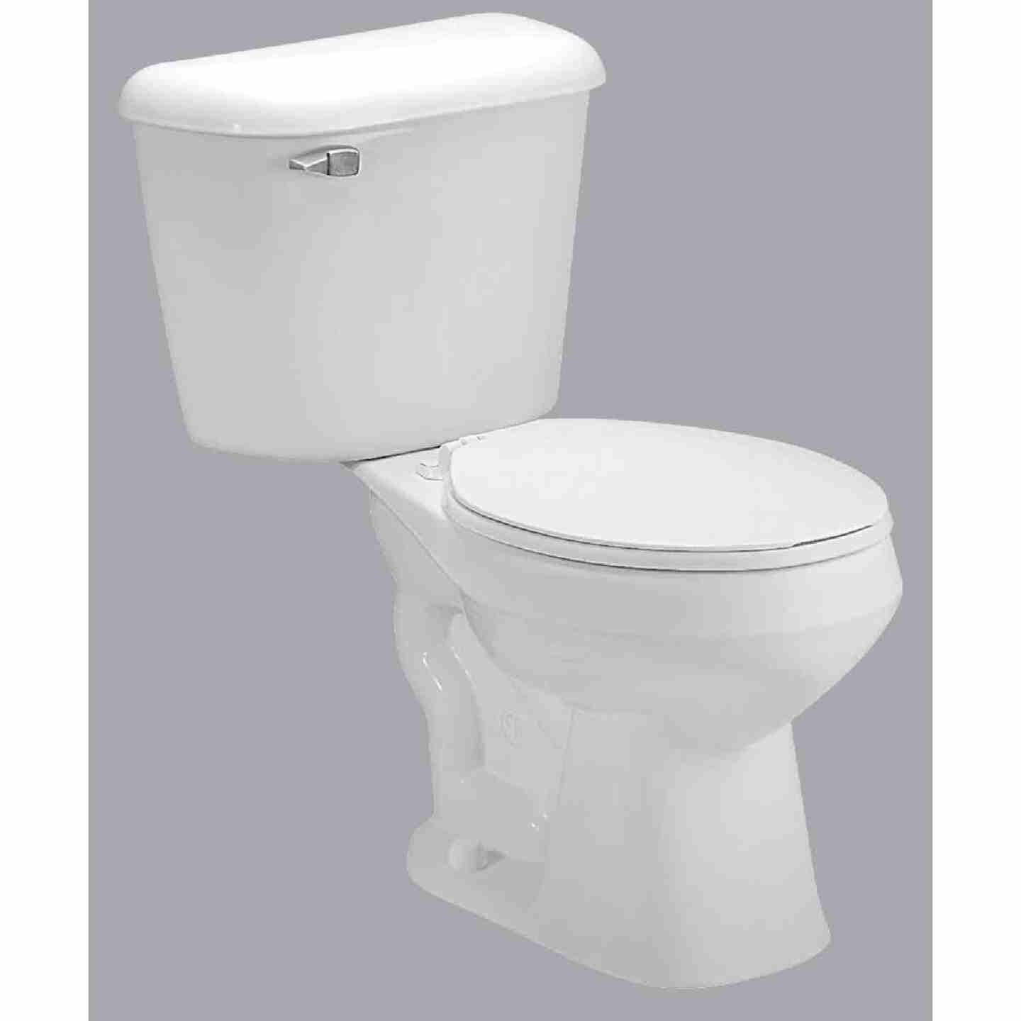 Mansfield Pro-Fit 1 White Round Bowl 1.6 GPF Complete Toilet Image 1