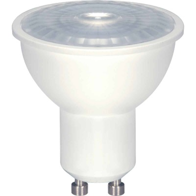 Satco 50W Equivalent Warm White MR16 GU10 Dimmable LED Floodlight Light Bulb