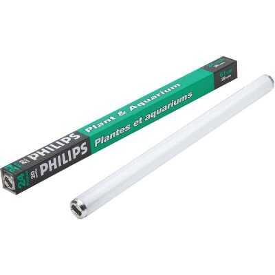 Philips 20W 24 In. Warm White T12 Medium Bi-Pin Plant & Aquarium Fluorescent Tube Light Bulb