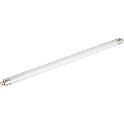 Satco 8W 11.9 In. Warm White T5 Miniature Bi-Pin Preheat Fluorescent Tube Light Bulb