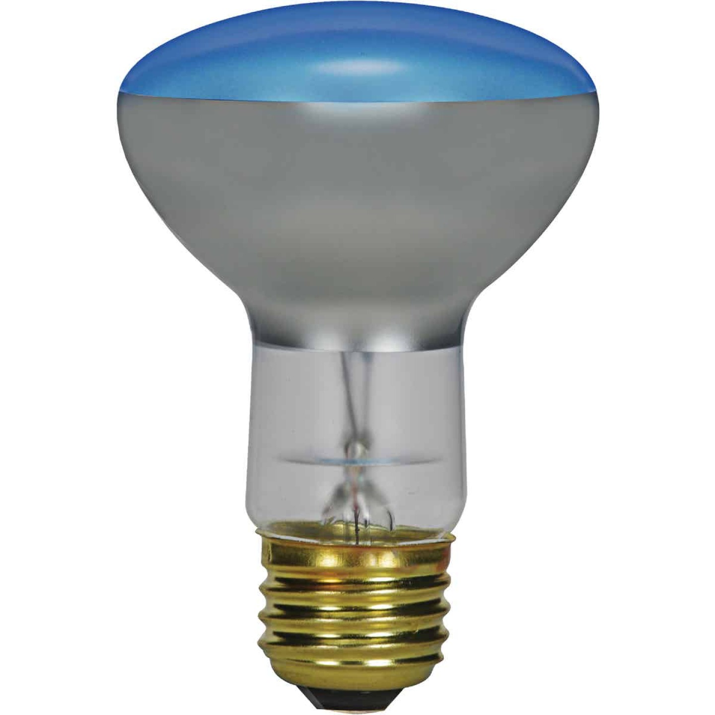 Satco 50W Frosted Medium Base R20 Incandescent Plant Light Bulb Image 1