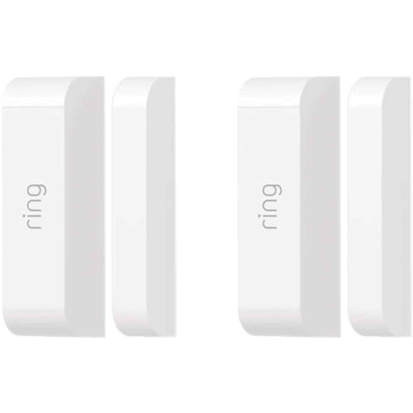 Ring Wireless Indoor White Alarm Contact Sensor (2-Pack) Image 1