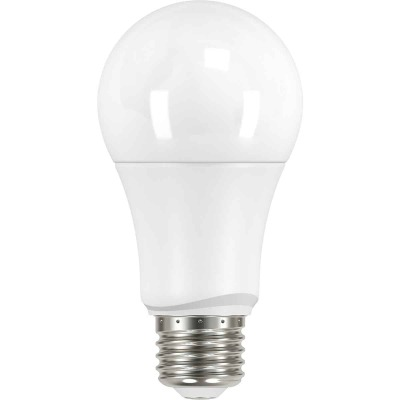 Satco 60W Equivalent Warm White A19 Medium LED Light Bulb (4-Pack)