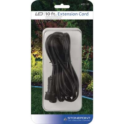 Stonepoint LED Lighting 10 Ft. Low Voltage Outdoor Lighting Extension Cord