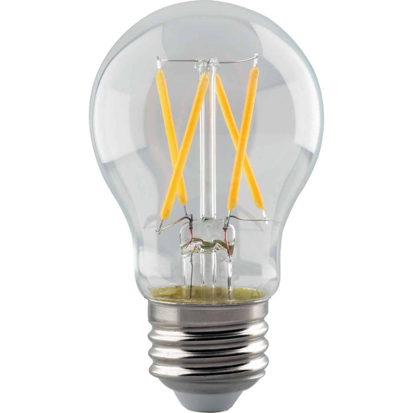 Satco 40W Equivalent Warm White A15 Medium Dimmable Traditional LED Light Bulb Image 1