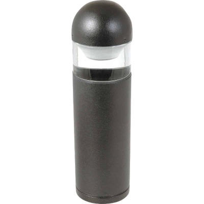 Moonrays Halogen Black Low-Voltage Bollard Style Path Light