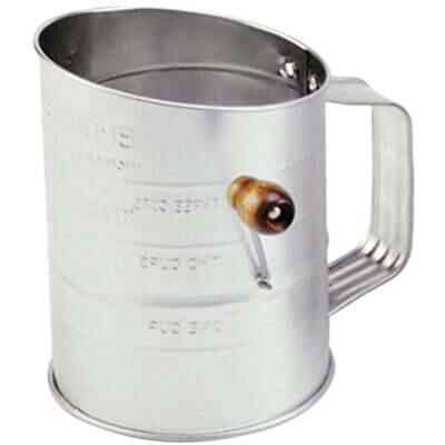 Norpro 3-Cup Tin Flour Sifter