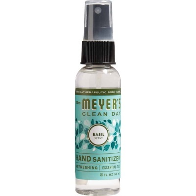 Mrs. Meyer's Clean Day 2 Oz. Basil Hand Sanitizer