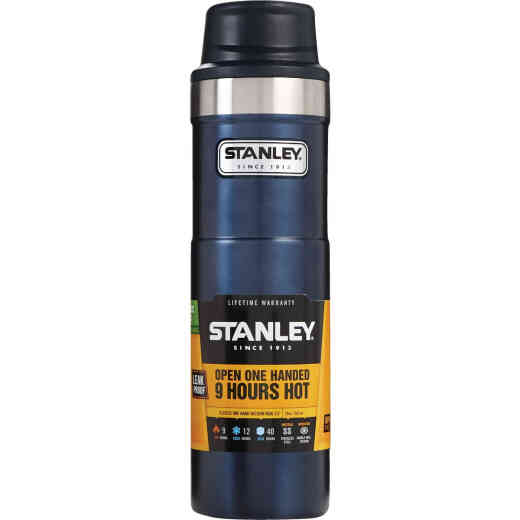 Stanley 20 Oz. Nightfall Blue Trigger Action Insulated Tumbler