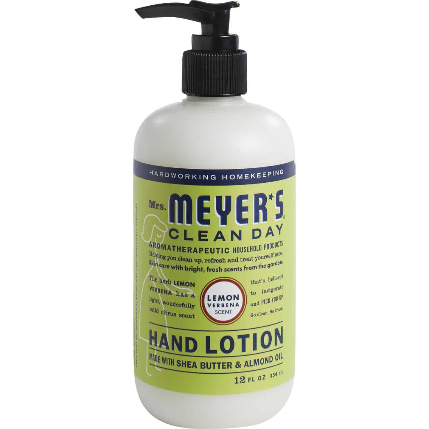 Mrs. Meyer's Clean Day 12 Oz. Lemon Verbena Hand Lotion Image 1