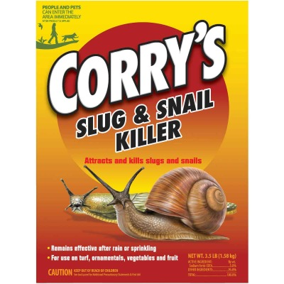 Corry's 3-1/2 Lb. Ready To Use Granules Slug & Snail Killer