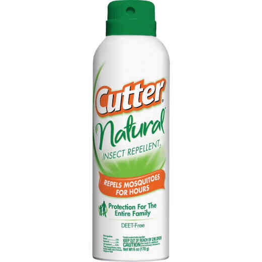 Cutter Natural 6 Oz. Insect Repellent Aerosol Spray