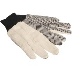 Do it Men's Large PVC Grip Cotton Canvas Work Glove Image 4