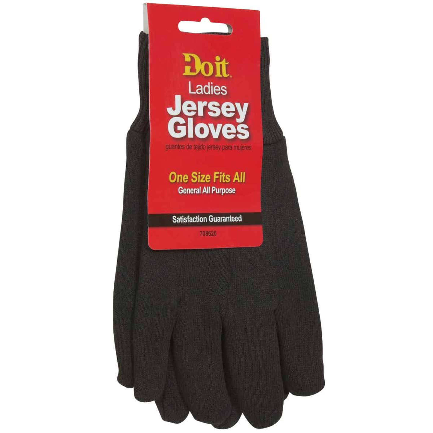 Do it Women's Large Jersey Work Glove Image 1