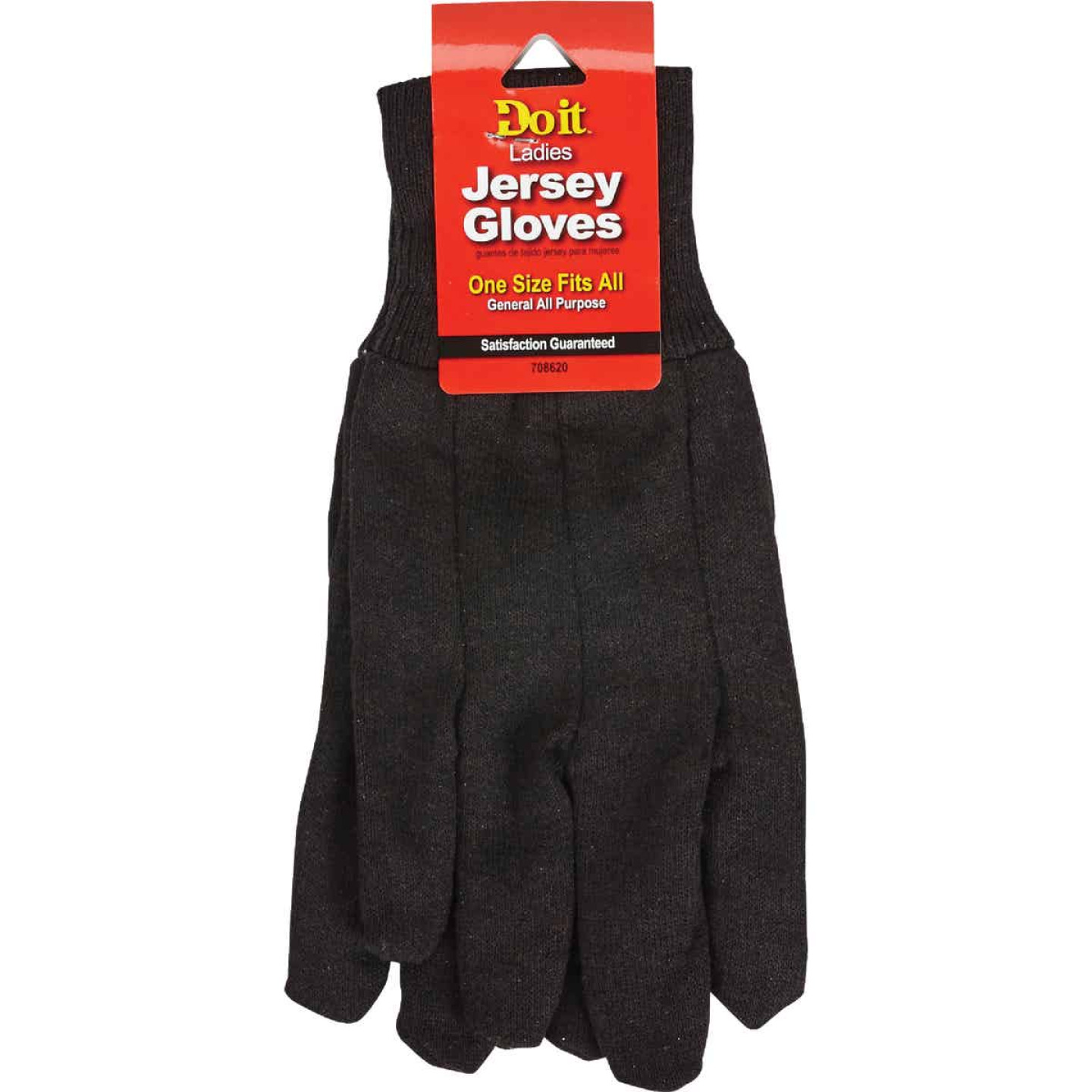 Do it Women's Large Jersey Work Glove Image 2