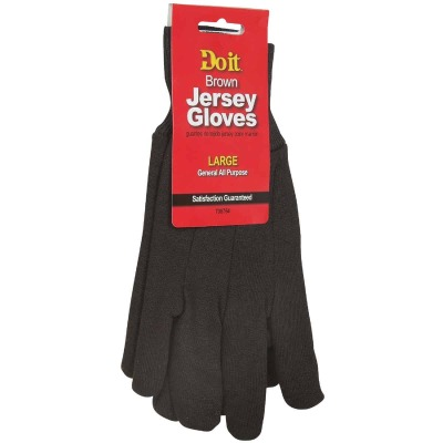 Do it Men's Large Jersey Work Glove