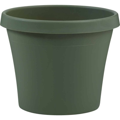 Bloem Terra Living Green 7.25 In. H. x 8 In. Dia. Polypropylene Planter